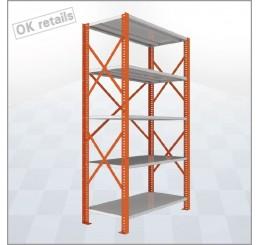 ชั้นสต๊อก (Micro Rack) รุ่น EAGLE Stock ชุดต้น