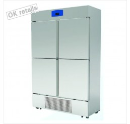 ตู้แช่เย็นสแตนเลสแบบยืน 4 ประตู