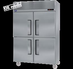 ตู้แช่เย็นสแตนเลสแบบยืน 4 ประตู  (ฟริสเซอร์)
