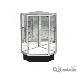 ตู้กระจกแบบเหลี่ยม (สั่งทำ)