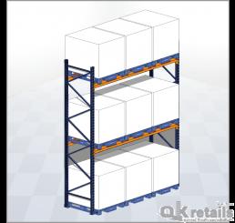 ชั้นวางแบบเลือกพาเลทได้ (Selective Rack / Palet Rack)