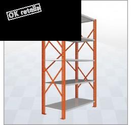 ชั้นสต๊อก (Micro Rack) รุ่น EAGLE Stock