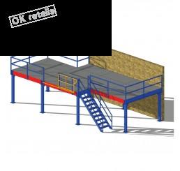 ชั้นลอยน็อคดาวน์ (Mezzanine Floor System)